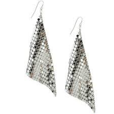 disco earrings diamond shape disco earrings forever 21 polyvore