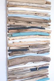 painted wood artwork best 25 driftwood wall ideas on wall