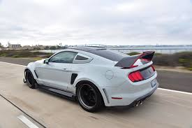 widebody mustang one of a kind shelby gt350 with a lot of carbon goodness