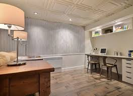 Decorative Ceiling Tile Basement Ceiling Ideas 11 Stylish