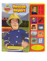 fireman sam lift flap sound book u0026s