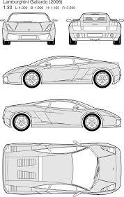 lamborghini gallardo blueprint lamborghini gallardo 2006 smcars car blueprints forum