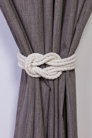 Open Those Curtains Wide Best 25 Curtain Tie Backs Ideas On Pinterest Tie Backs For