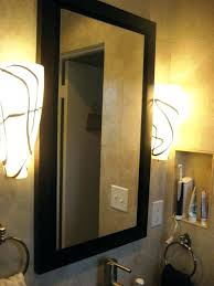 recessed bathroom storage cabinet mirrored medicine cabinet with light mirrored medicine cabinet with