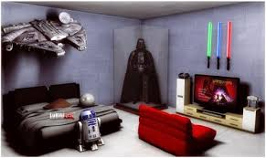 Star Wars Bedroom How We Created Our Boys Star Wars Themed Bedrooms Cool Things