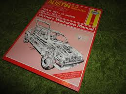 austin metro haynes car manual 1980 to 1987 all models u2022 8 99