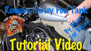 remove u0026 install harley davidson fuel gas tank motorcycle biker