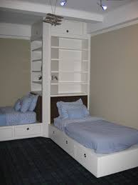 bunk beds amazing blue children bedroom design with double beds