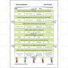 health and movement moving muscles planbee single lesson