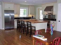 Kitchen Open To Dining Room Kitchen Open Floor Plans For Kitchen Living Room Concept Small