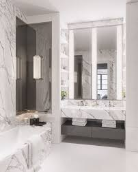 Bathroom White And Black Interior by Best 25 Grey Marble Bathroom Ideas On Pinterest Grey Tile