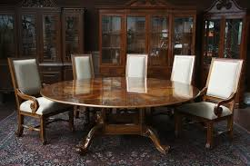 antique looking dining tables round dining table 15 glance design and ideas home loof