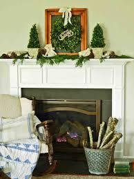 christmas garland ideas mantel cheminee website