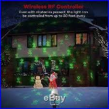 Christmas Laser Light Show Decorative Outdoor Holiday Christmas Lights Show Laser Projector