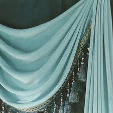 Outer Space Window Curtains by Tassel Vintage Window Curtains No Valance