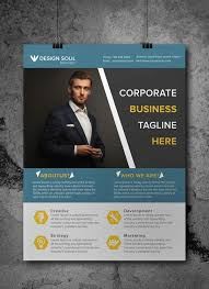 Free Templates For Business Flyers free corporate business flyer psd template misc