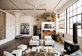 Industrial Interior Design Loft Brooklyn Industrial Interior Design Ideas Hupehome