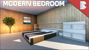 Contemporary Bedroom Furniture Designs Minecraft Modern Bedroom Tutorial Interior Design Series Ep3