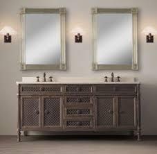 Restoration Hardware Bathroom Cabinets Louis Xvi Treillage Bath Collection Natural Restoration