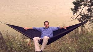 grand trunk double parachute nylon hammock youtube