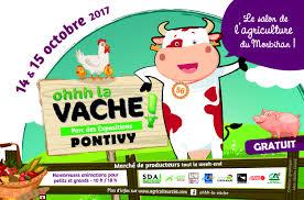 chambre d agriculture 15 salon ohhh la vache à pontivy les 14 et 15 octobre 2017