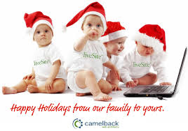 happy holidays beautiful text wishes picture