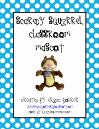 scardey squirrel and skippyjon jones classroom mascots and