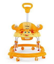 buy luvlap baby walker sunshine yellow online at low prices in