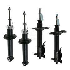 nissan sentra aftermarket parts front u0026amp rear strut shock absorber kit set of 4 for 00 01