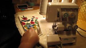 Sewing Projects Home Decor Sewing Demo Of A Speedylock Serger Sewing Machine Fast And Easy