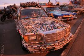 how wide is a two car garage art car wikipedia
