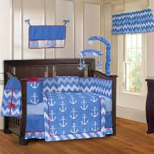 babyfad anchor zigzag 10 piece crib bedding set u0026 reviews wayfair