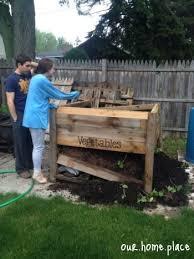 diy raised garden box ourhomeplace