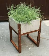 ana white home depot dih workshop modern paver planter diy