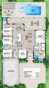 floor plans florida coastal contemporary florida house plan 52921 level one florida