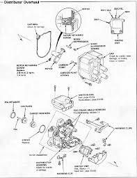 distributor wiring diagram honda honda wiring diagram gallery