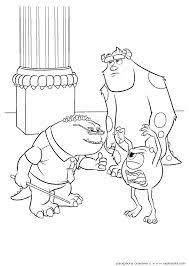 monsters university coloring pages 45 coloring pages