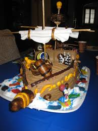 Pirate Cake Decorations Birthday Party Decorations Birthday Party Cake Birthday