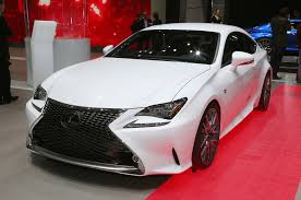lexus sports car 2 door 2015 lexus rc350 f sport rc f race car debut in geneva automobile
