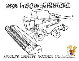 john deere combine coloring pages combine coloring page to inside