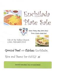 enchilada plate sale inc delivery may 24th live