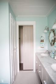 Barn Door Bathroom Privacy by How To Add A Lock To Your Barn Door The Handmade Home