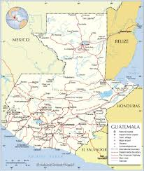 Spain Political Map by Political Map Of Guatemala Nations Online Project