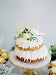 nothing bundt cakes wedding cake nothing bundt cakes wedding
