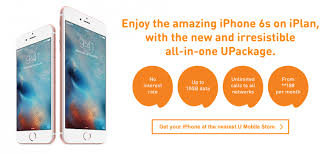how much does an iplan table cost a closer look at the u mobile upackage plan for iphone lowyat net