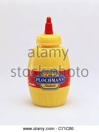 plochman s mustard mustard bottle stock photo 3927107 alamy