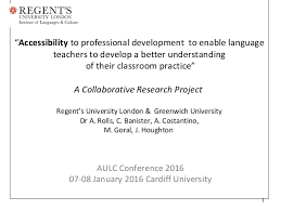 Banister Research Accessibility Of Professional Development By Language Practioners Inv U2026