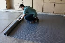 amazing vinyl garage flooring roll park smart deck garage