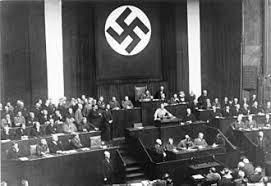 Seeking Adolf Adolf Addressing The Reichstag On 23 March 1933 Seeking