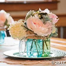 Centerpiece Ideas Jar Flower Centerpiece Idea